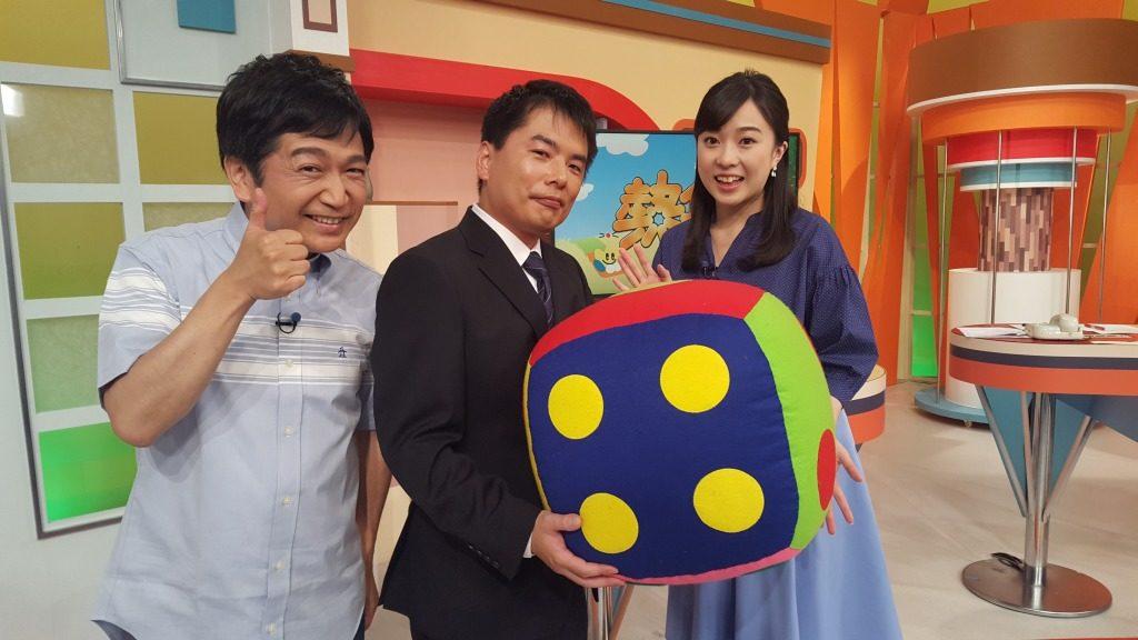 熱血テレビ  高橋裕アナウンサー、深澤朝香アナウンサー