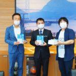 8月26日 前田晋太郎 下関市長を表敬訪問しました。