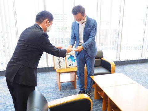 下関市長表敬訪問 数学教官