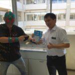 下関南高等学校の勉強合宿に参加しました。数理哲人・シヴァ神
