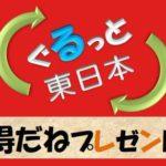毎日新聞 ぐるっと東日本・得だねプレゼント の企画に書籍が掲載