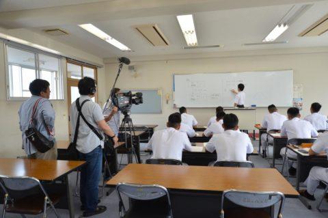防衛省海上自衛隊数学教官 佐々木淳 (山口放送・熱血テレビ)